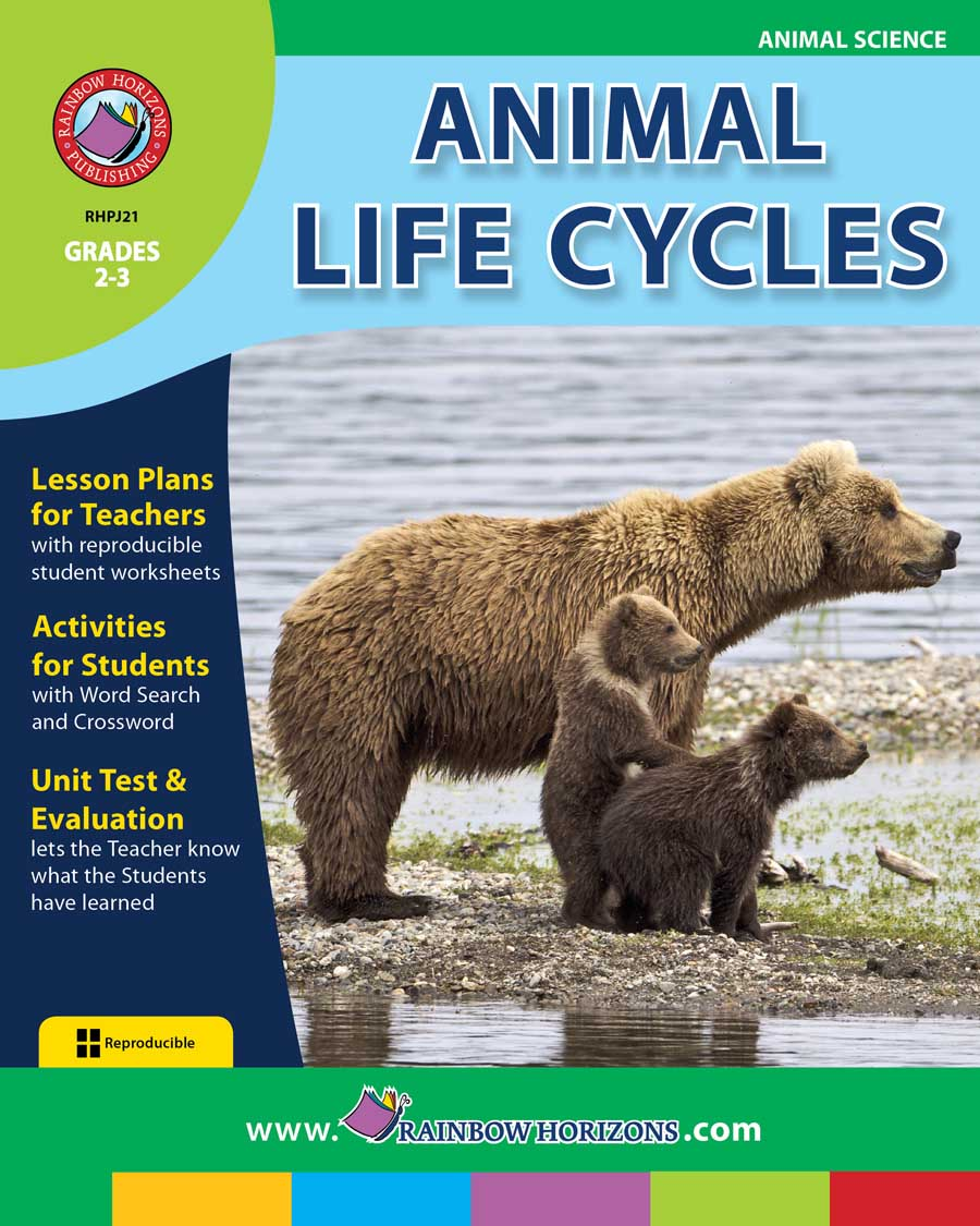 Animal Life Cycles Gr. 2-3 - print book