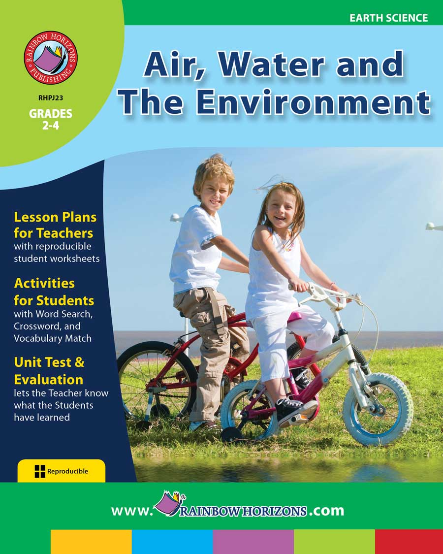Air, Water and The Environment Gr. 2-4 - print book