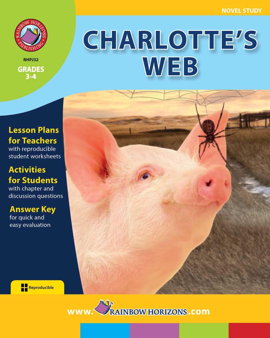 Book Study - Charlotte's Web - Pinterest