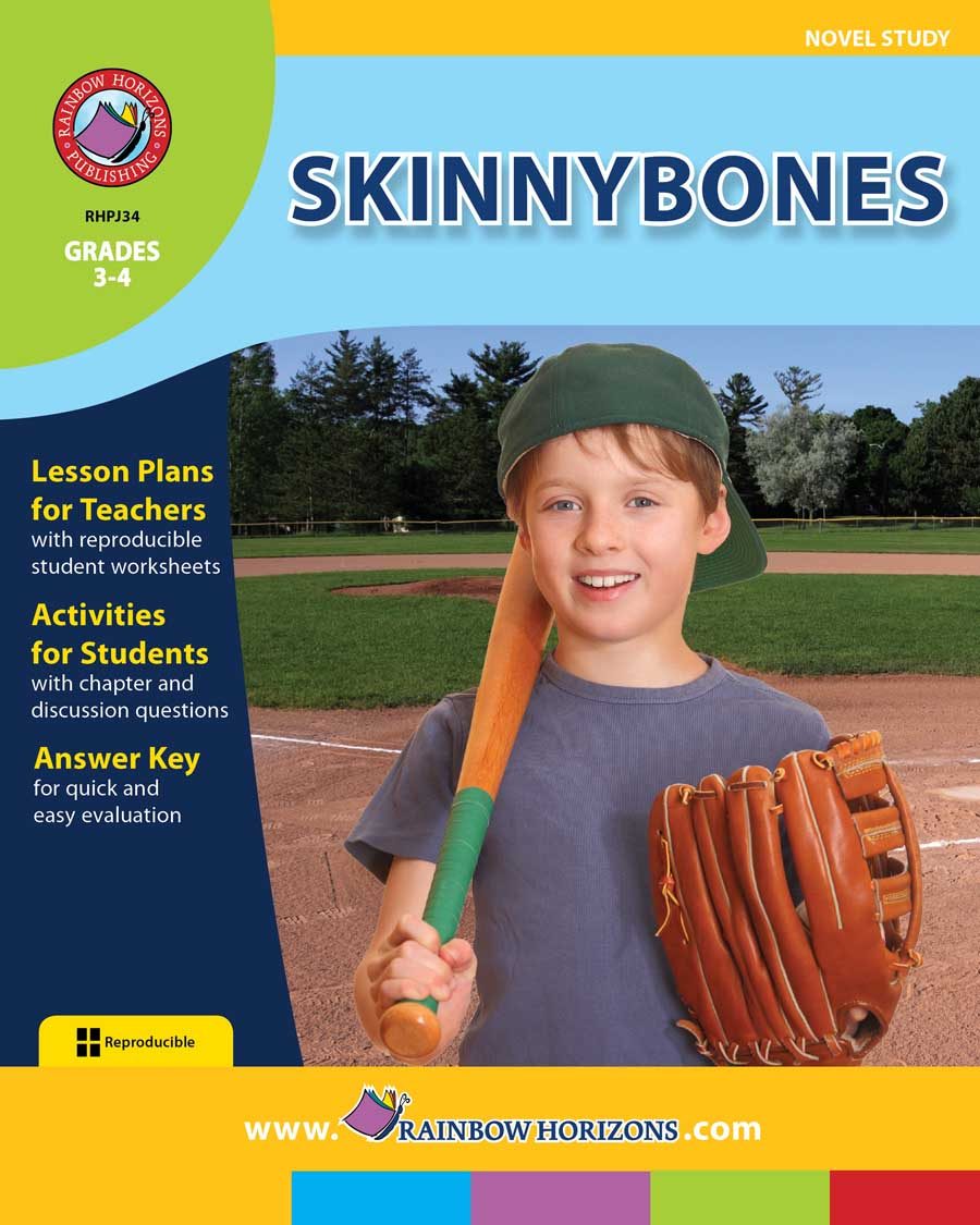 Skinnybones (Novel Study) Gr. 3-4 - print book