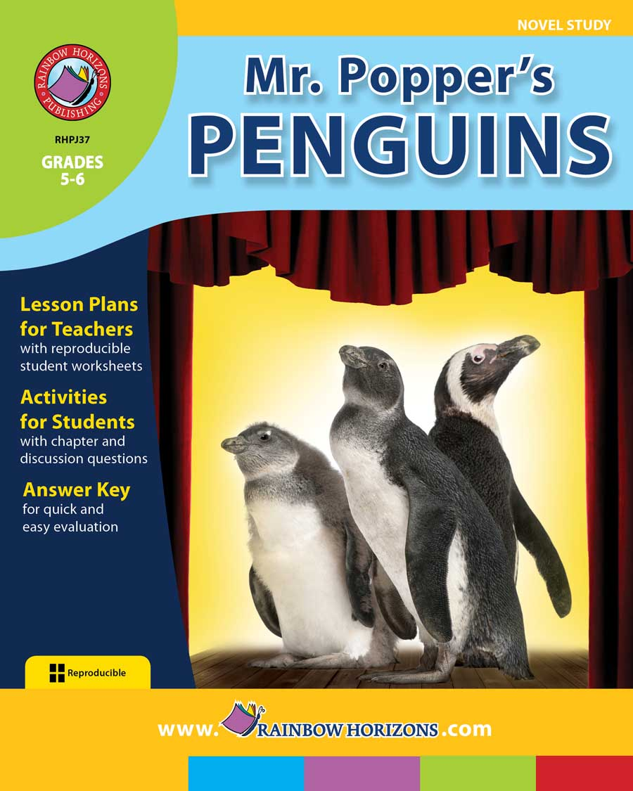 Mr. Popper's Penguins (Novel Study) Gr. 5-6 - print book