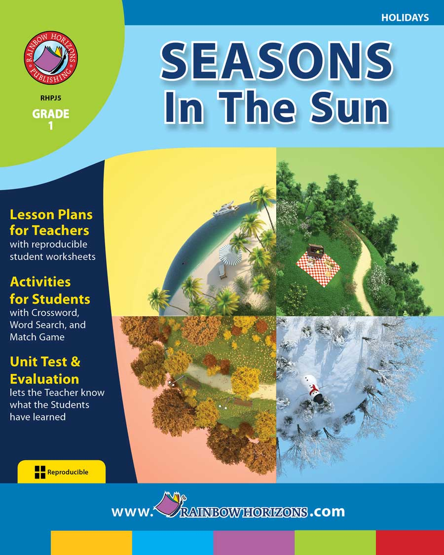 Seasons In The Sun Gr. 1 - print book