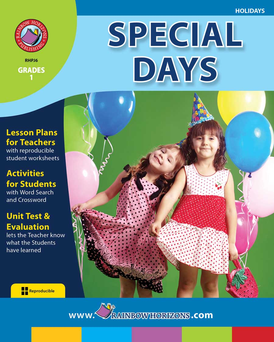 Special Days Gr. 1 - print book