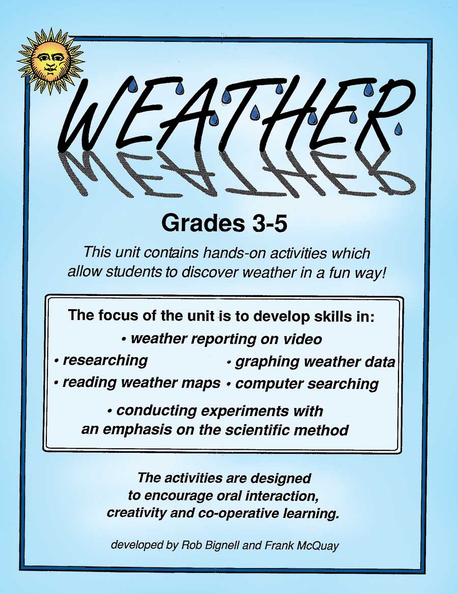 WEATHER Gr. 3-5 - eBook