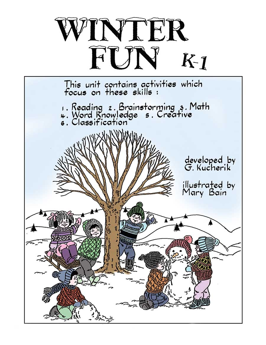WINTER FUN Gr. K-1 - eBook