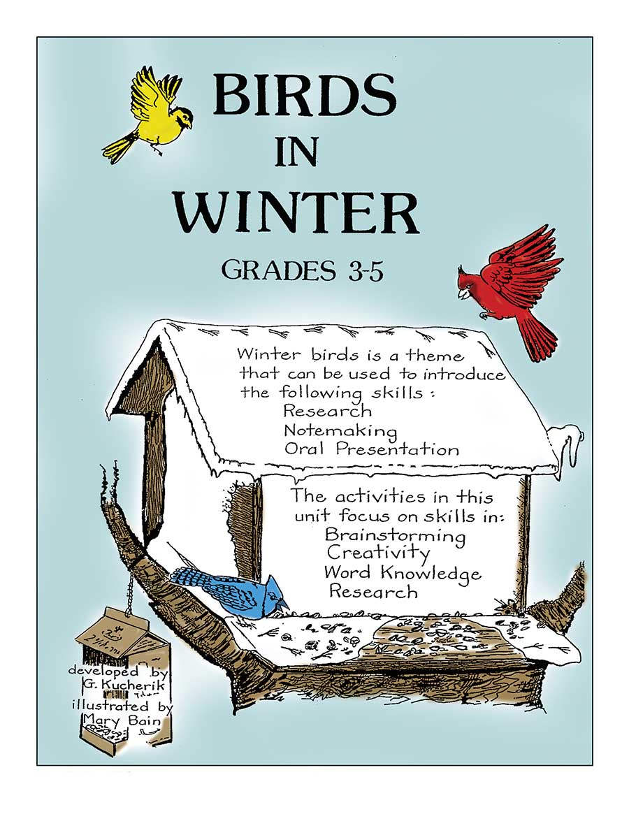 BIRDS IN WINTER Gr. 3-5 - eBook