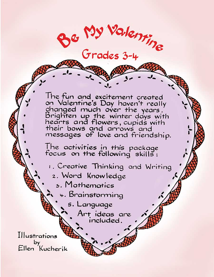 BE MY VALENTINE Gr. 3-4 - eBook