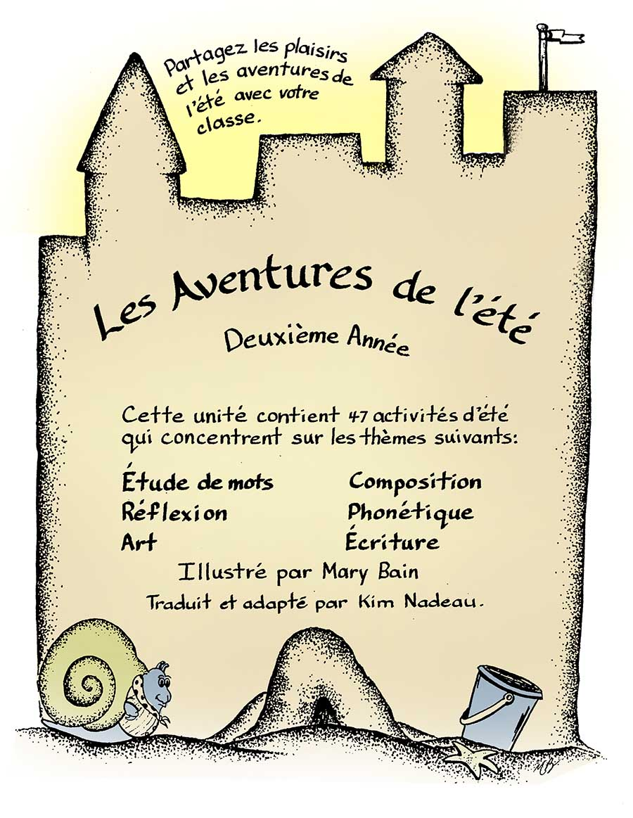 LES ADVENTURES DE L'ÉTÉ Gr. 2 - eBook