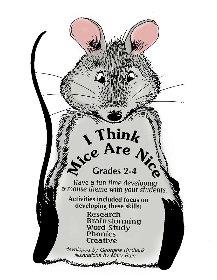 I Think Mice Are Nice Grades 2 To 4 Ebook Lesson Plan