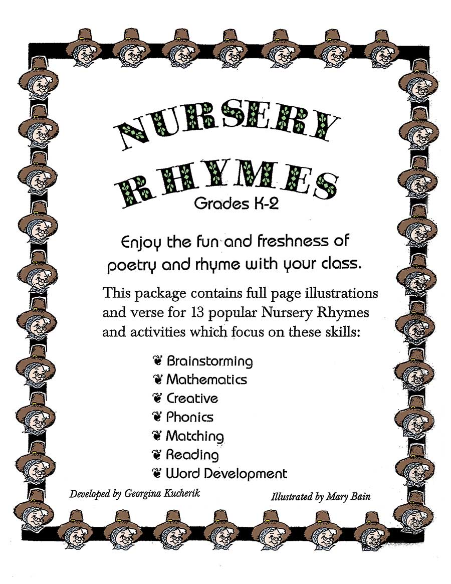 NURSERY RHYMES Gr. K-2 - eBook