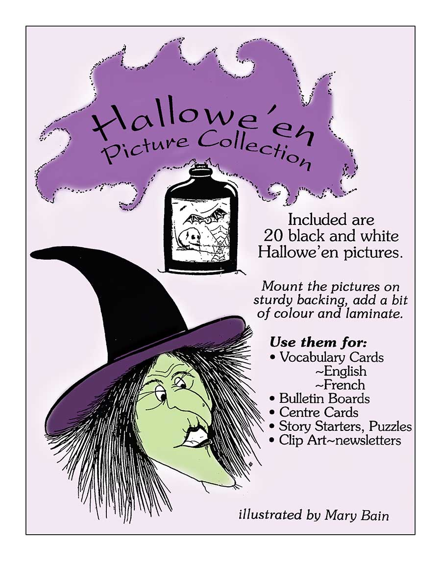 HALLOWE'EN PICTURE COLLECTION Gr. K-8 - eBook