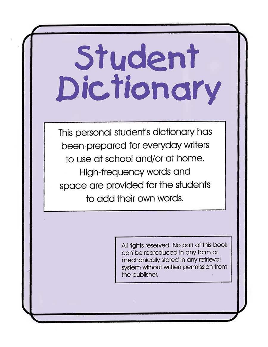 STUDENT DICTIONARY Gr. K-8 - eBook