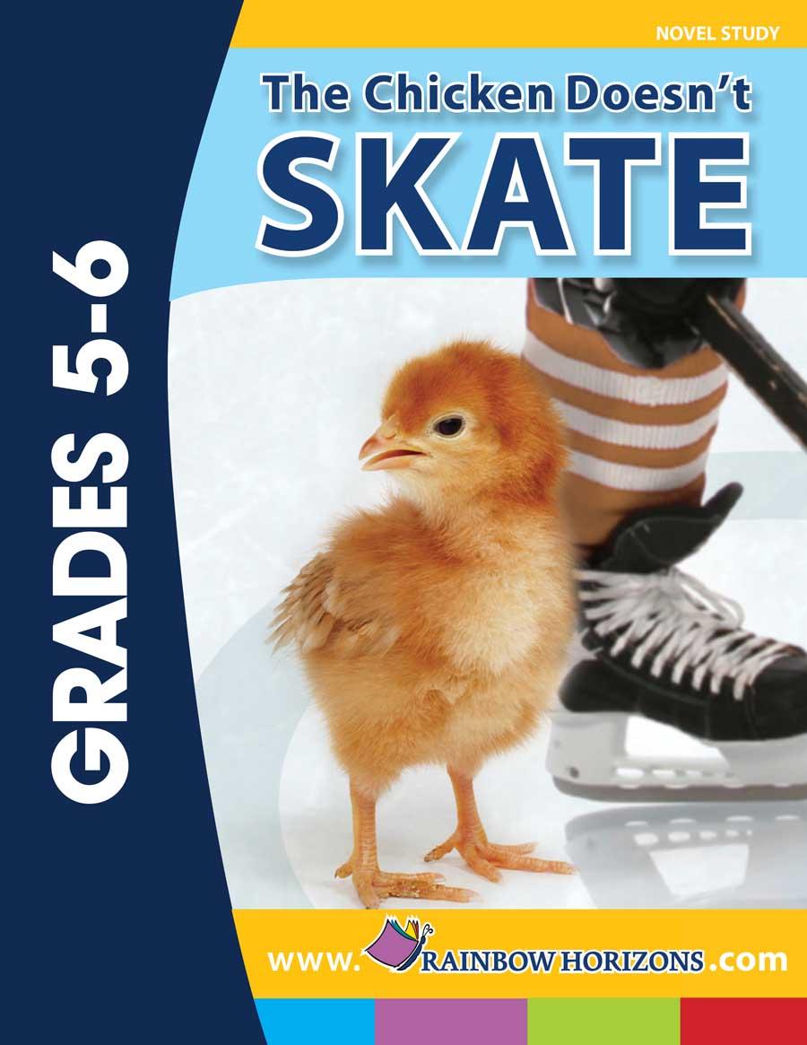 the chicken doesn t skate novel study order ra125 isbn13 Novel Games Novel Outline