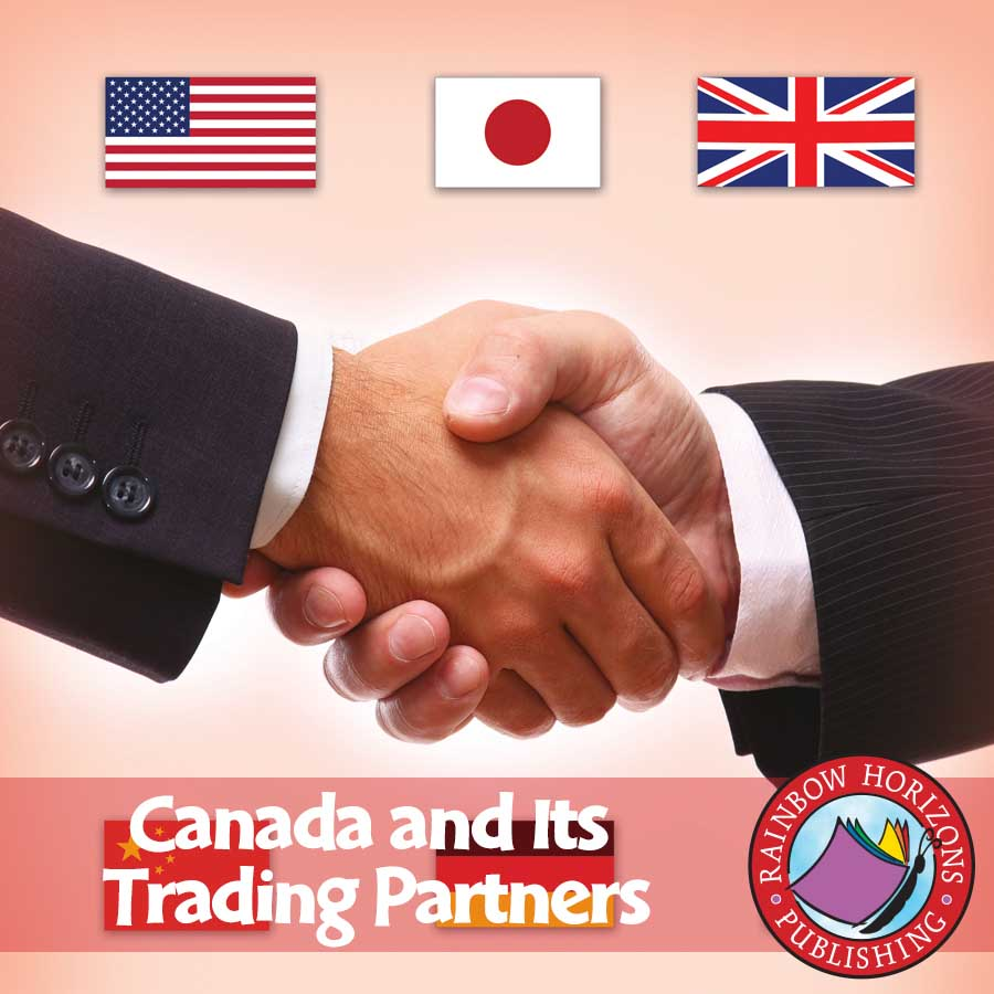 Canada And Its Trading Partners Gr. 4-6 - eBook