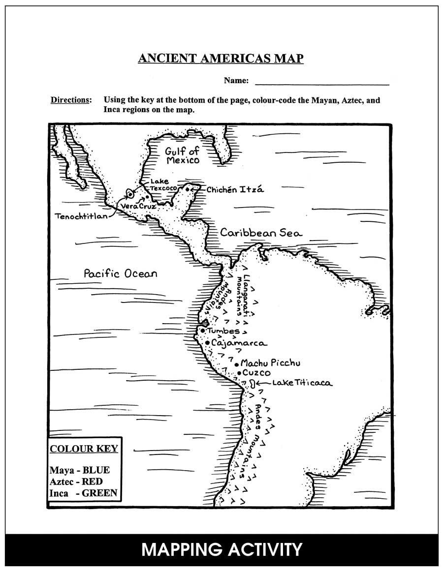 Ancient Maya, Aztecs & Incas - CHAPTER SLICE - Grades 4 to 6 - eBook ...