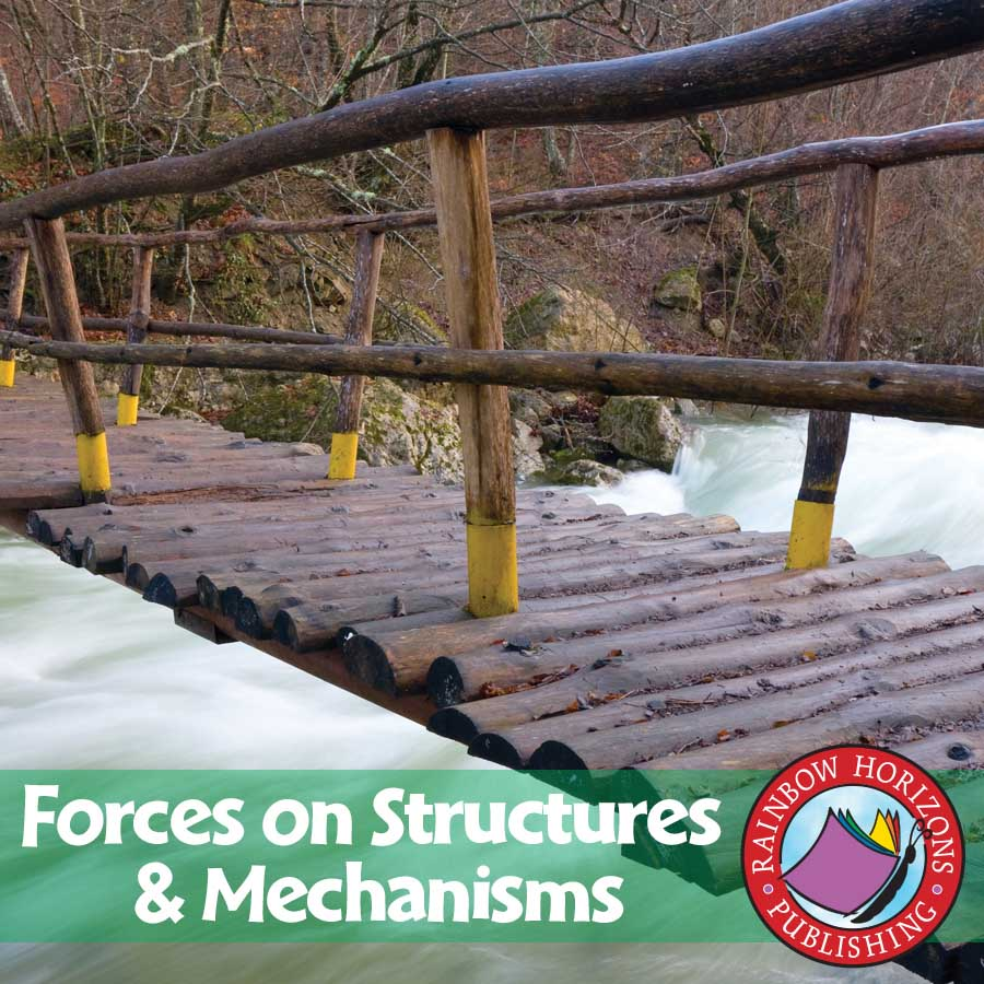 forces on structures grades 4 to 7 ebook lesson plan rainbow