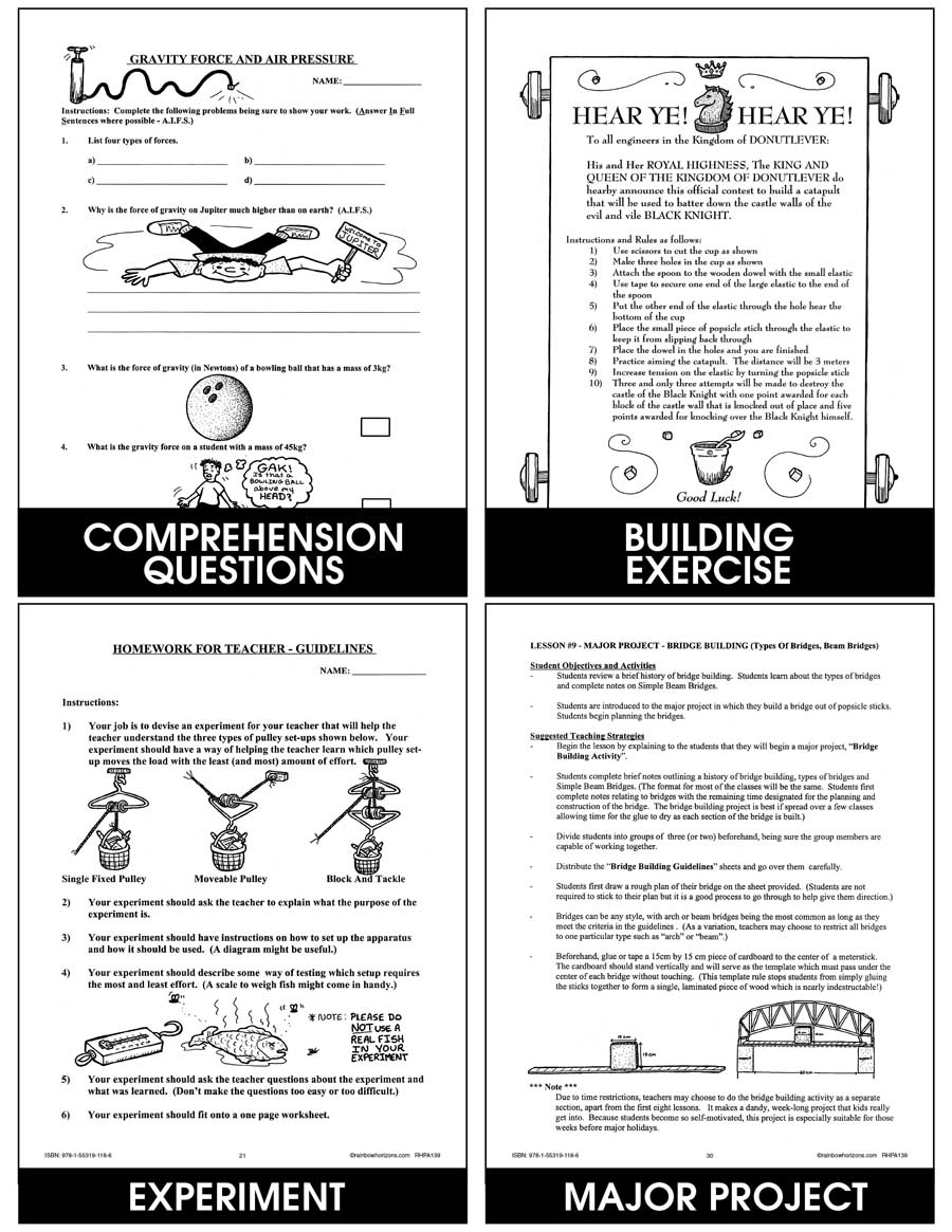 Forces On Structures Gr. 4-7 - eBook