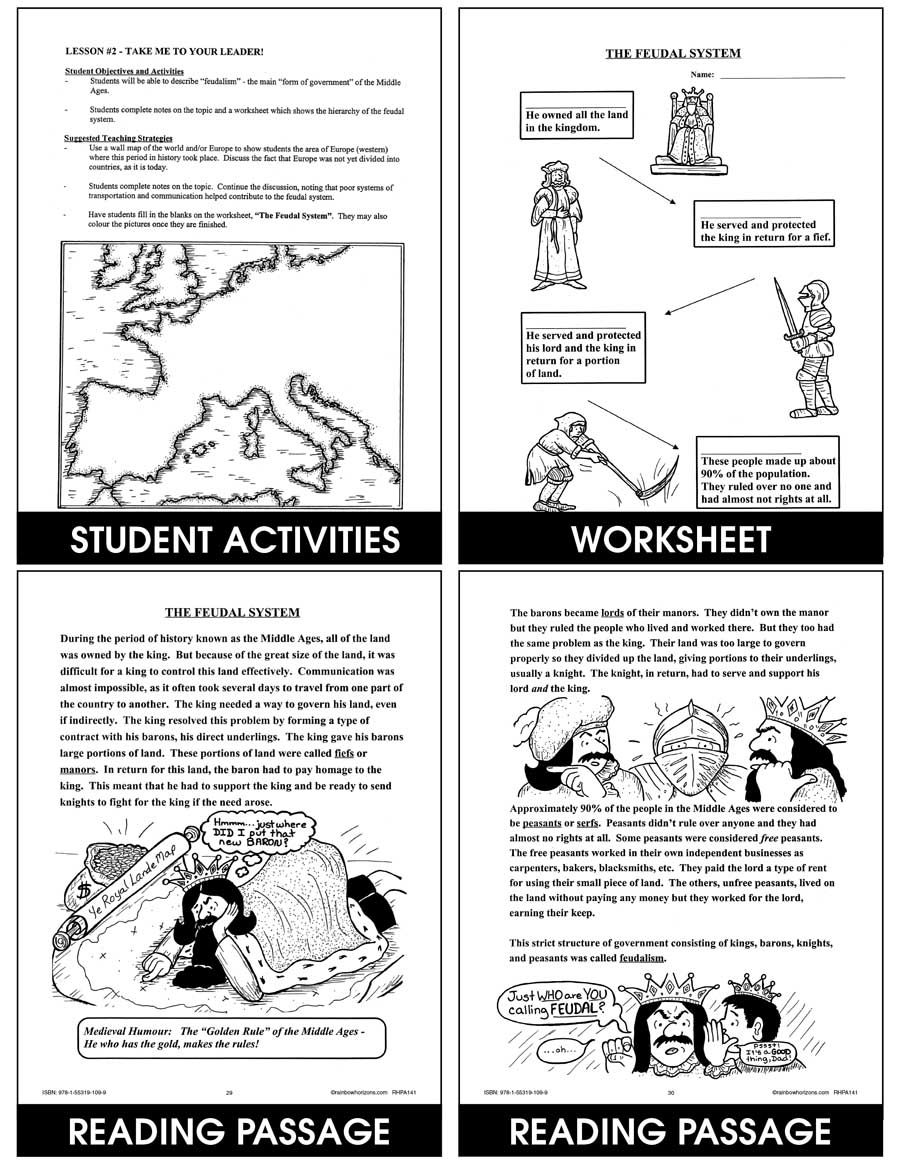 Medieval Times Chapter Slice Grades 4 To 6 Ebook Chapter