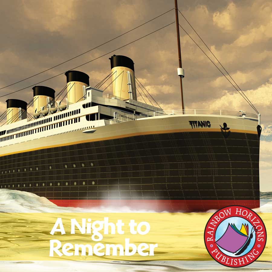 A Night To Remember (Novel Study) Gr. 5-6 - eBook