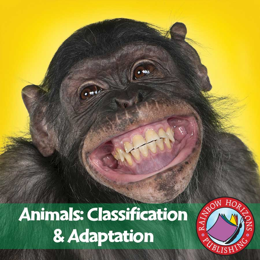 Animals: Classification & Adaptation Gr. 4-6 - eBook
