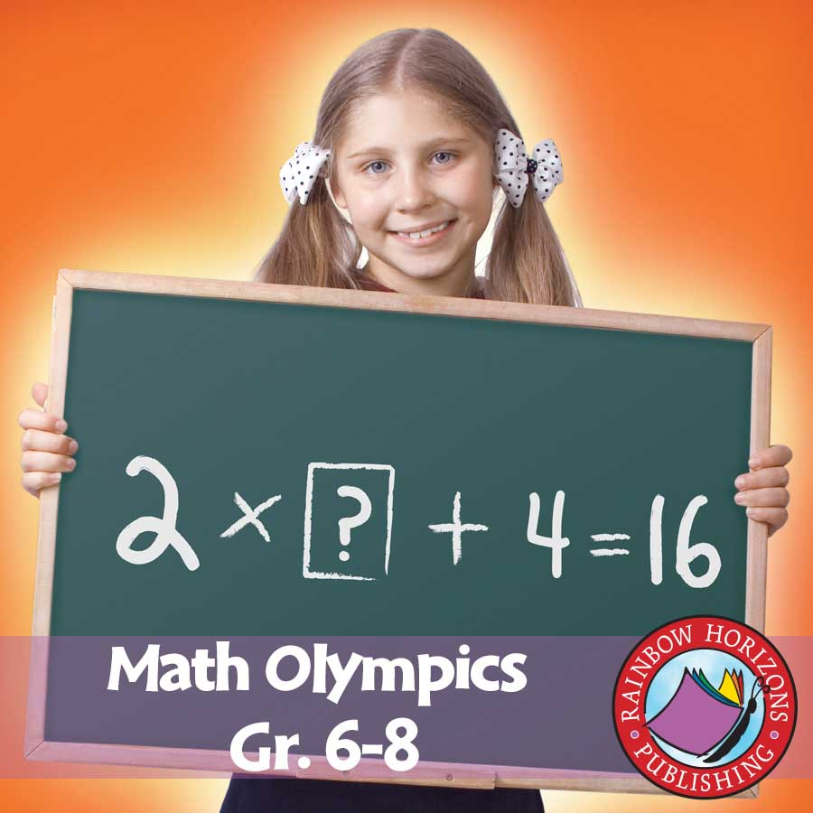 Math Olympics  Gr. 6-8 - eBook
