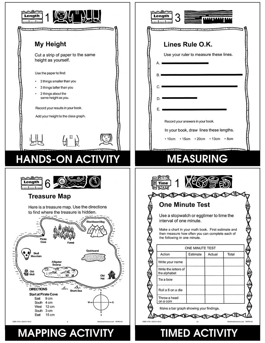 Let's Measure Up: Length, Time, Perimeter Gr. 4-6 - eBook