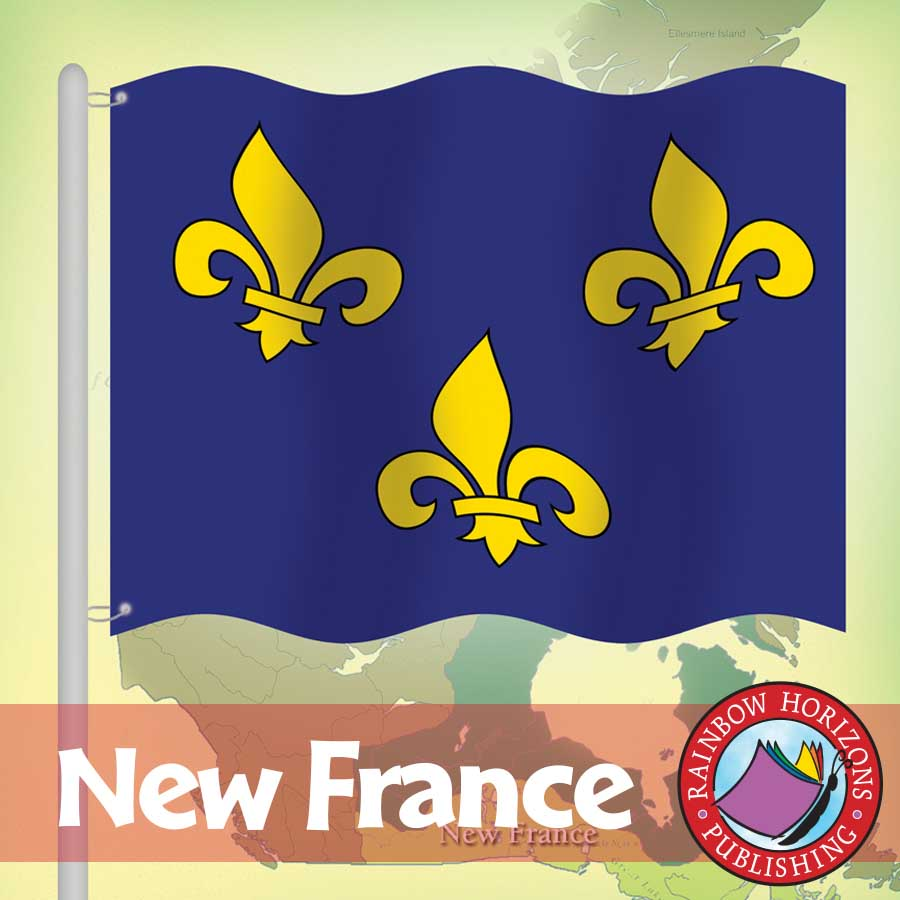 New France Gr. 7-8 - eBook
