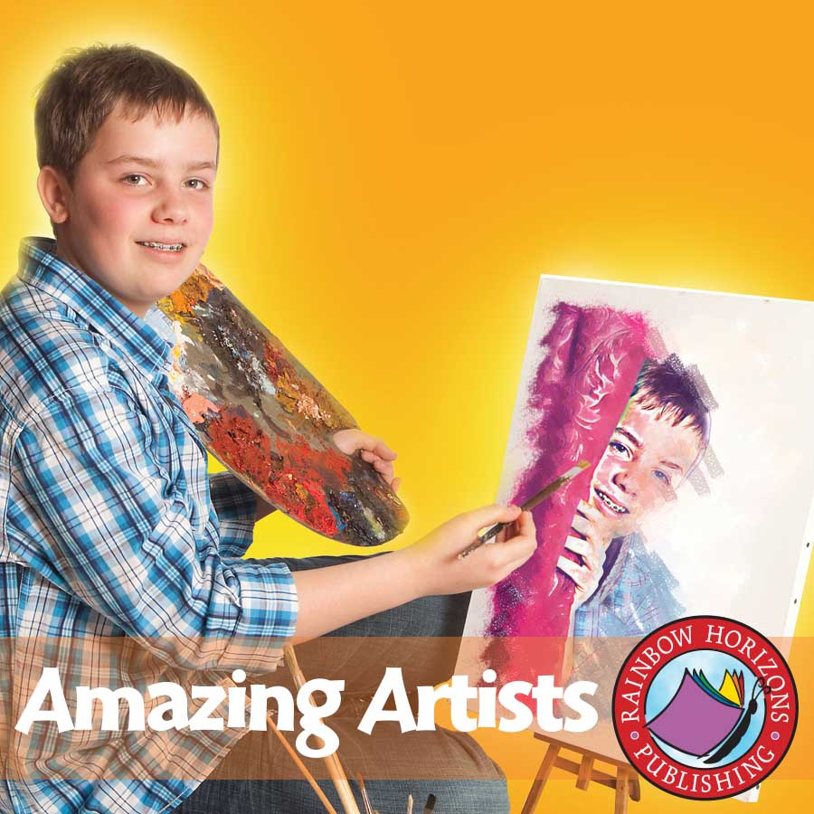 Amazing Artists Gr. 6-8 - eBook