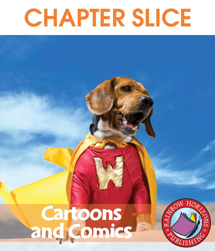 Cartoons And Comics Gr. 6-8 - CHAPTER SLICE - eBook
