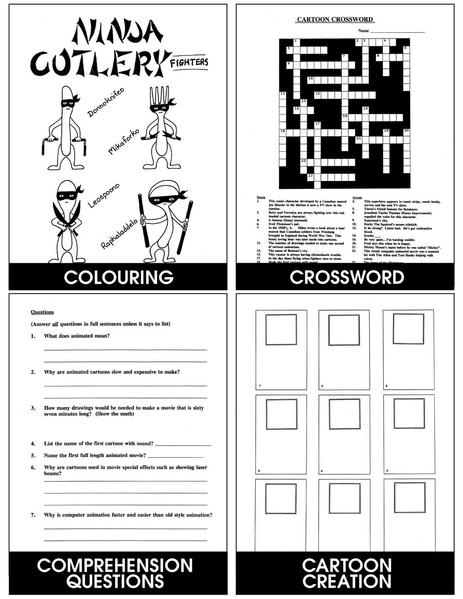 Cartoons And Comics Gr. 6-8 - eBook