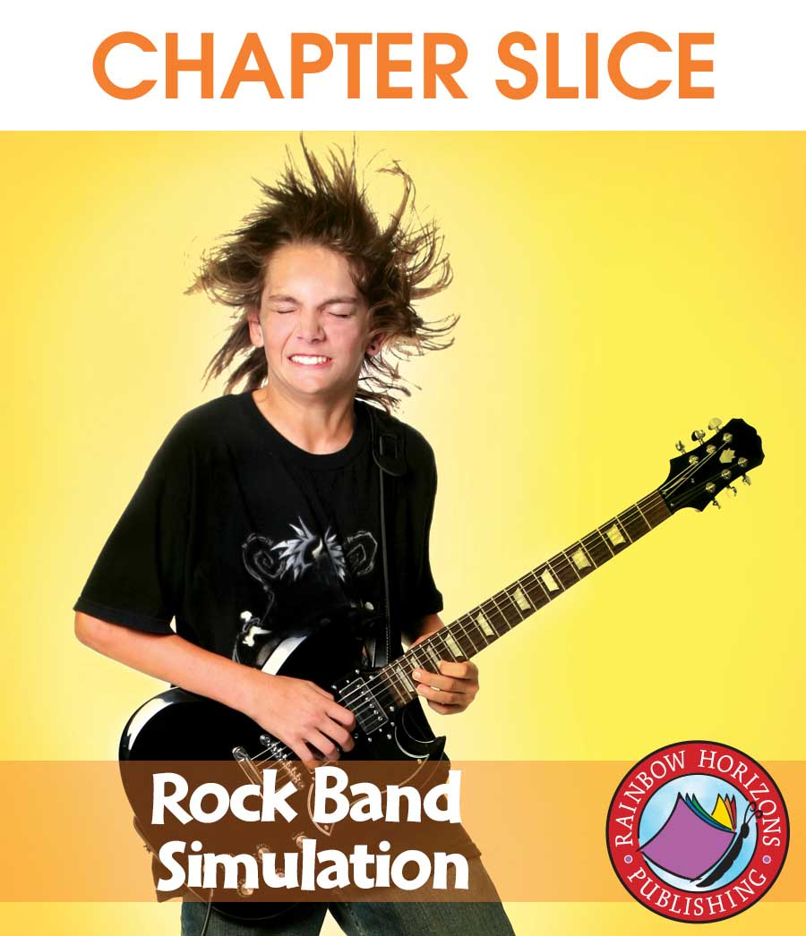 Rock Band Simulation Gr. 4-6 - CHAPTER SLICE - eBook