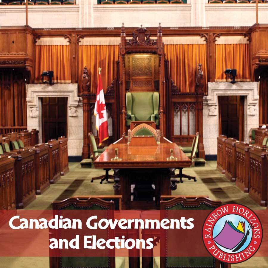 Canadian Governments & Elections - Grades 5 to 8 - eBook - Lesson ...