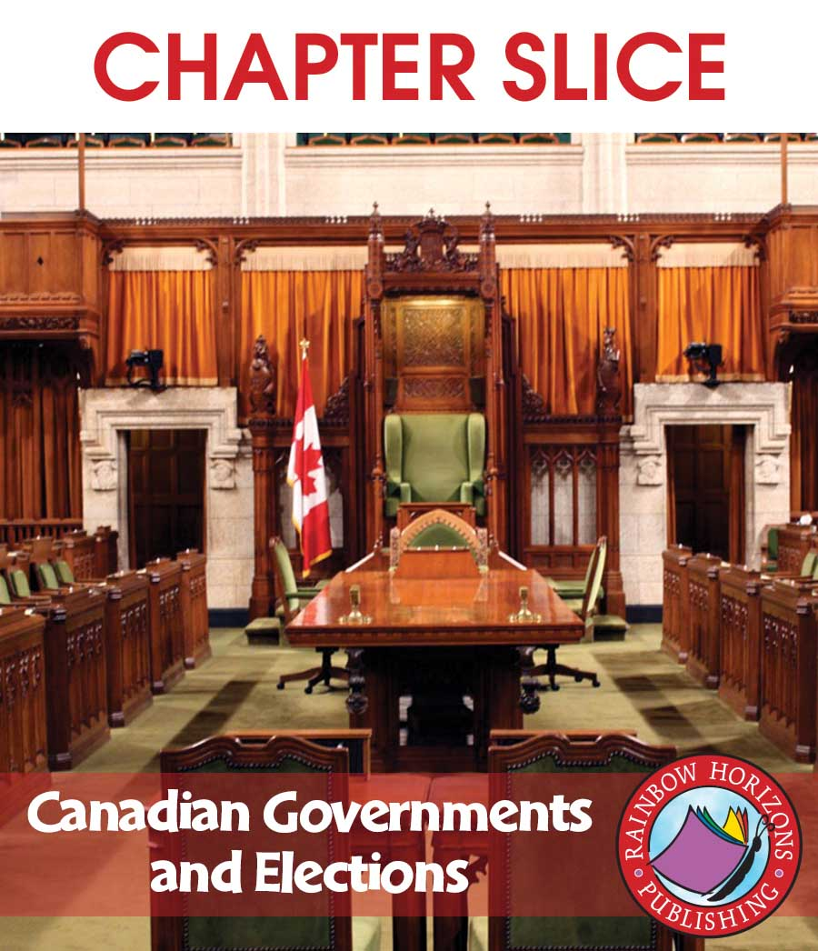 Canadian Governments and Elections Gr. 5-8 - CHAPTER SLICE - eBook