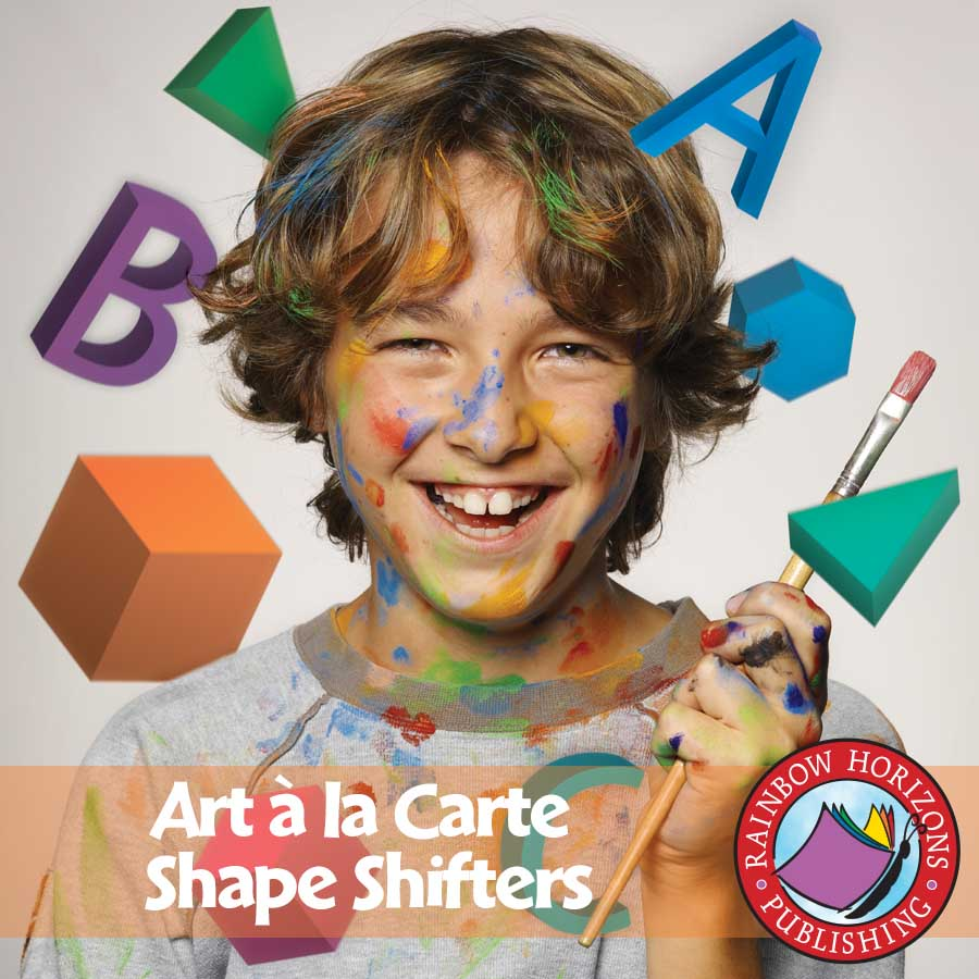 Art A La Carte: Shape Shifters Gr. 4-7 - eBook