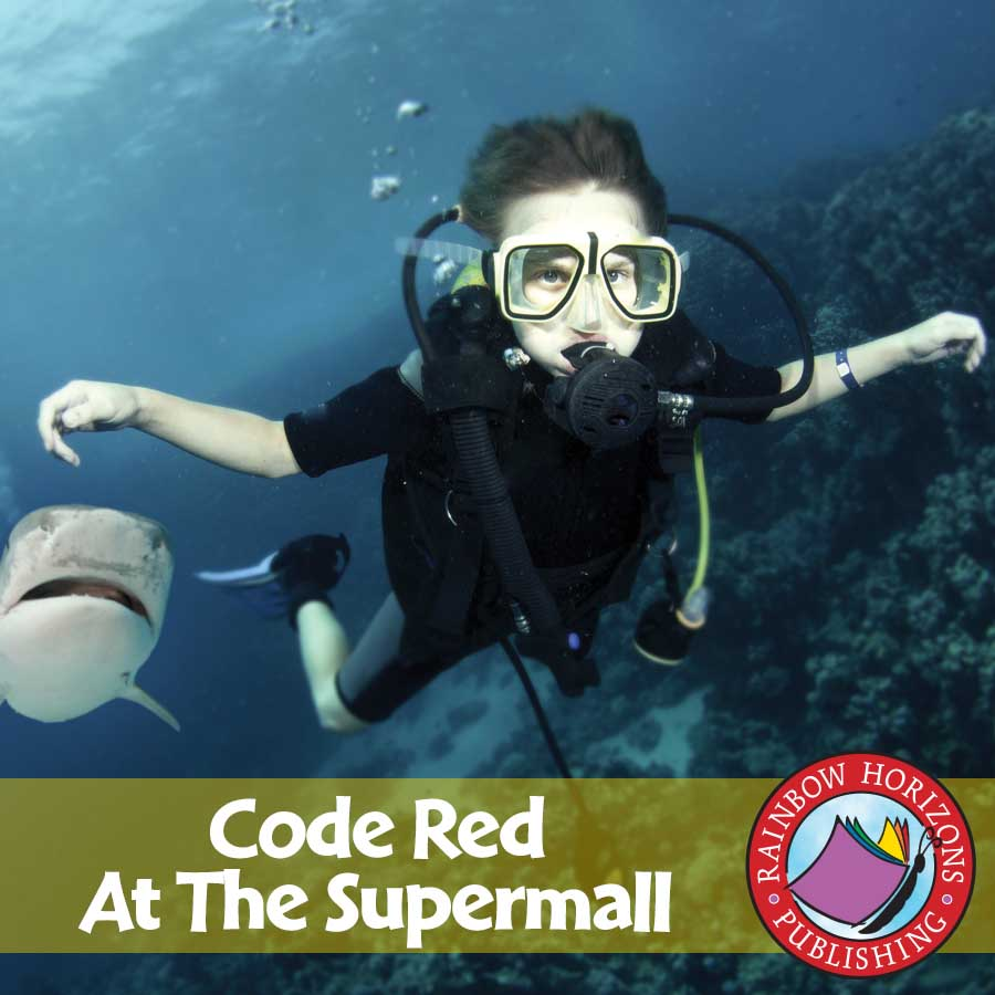 Code Red At The Supermall (Novel Study) Gr. 6-8 - eBook