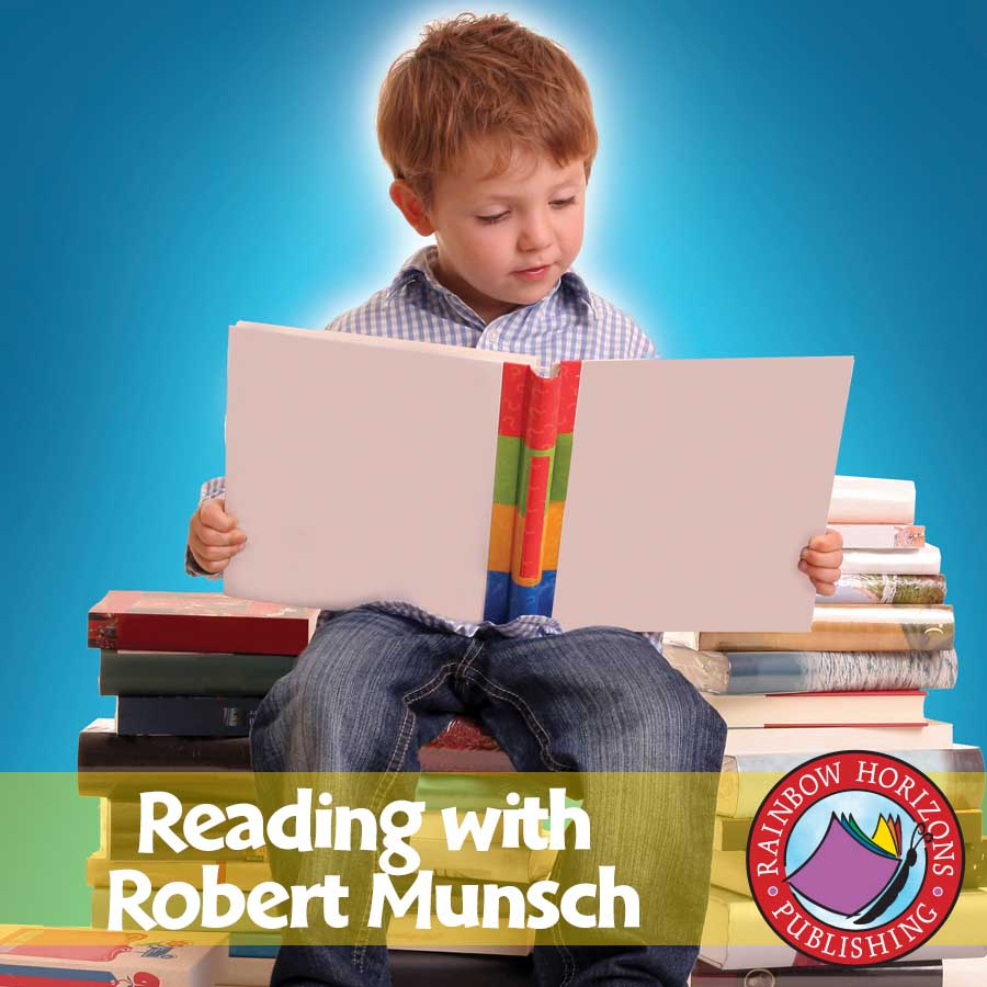 Reading with Robert Munsch (Author Study) Gr. 1-2 - eBook