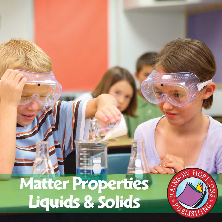 Matter Properties: Liquids & Solids Gr. 2-3 - eBook