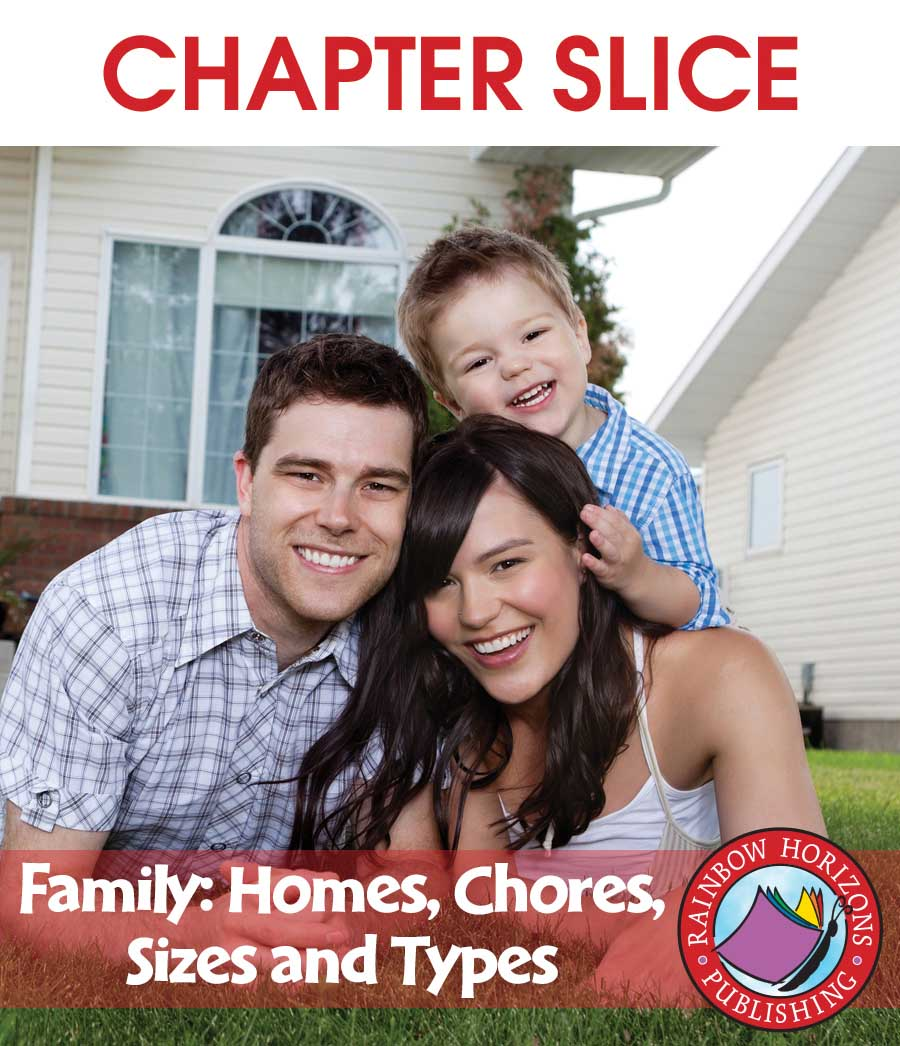 Family: Homes, Chores, Sizes & Types Gr. 1 - CHAPTER SLICE - eBook