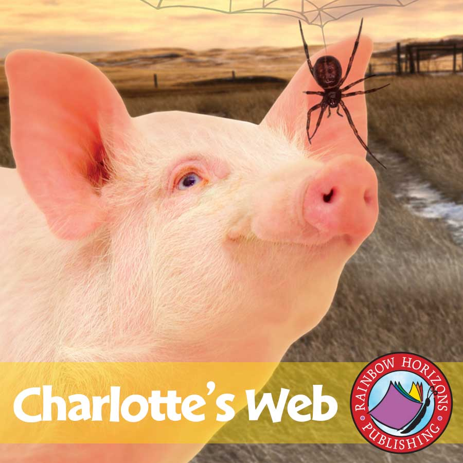 Printable Charlotte S Web Book Cover : Charlottes web grades to ebook lesson plan
