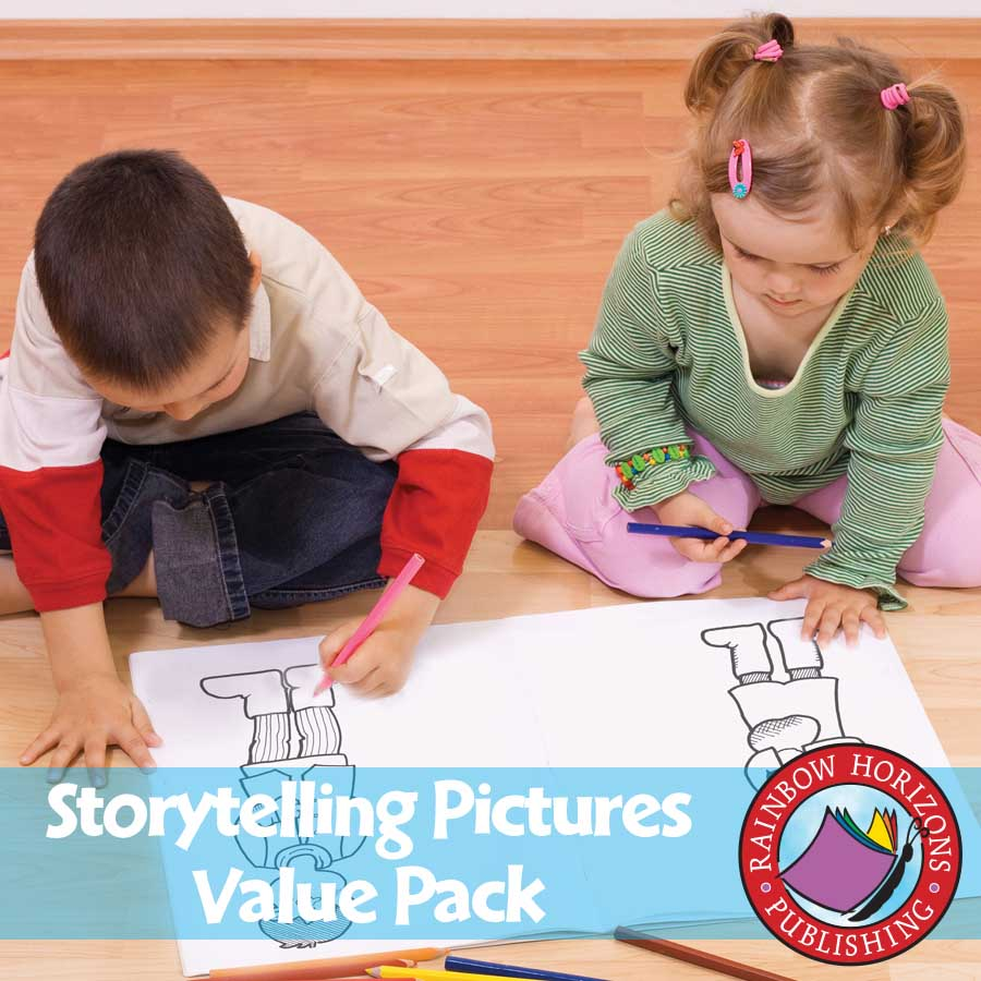 Storytelling Pictures VALUE PACK Gr. K - eBook