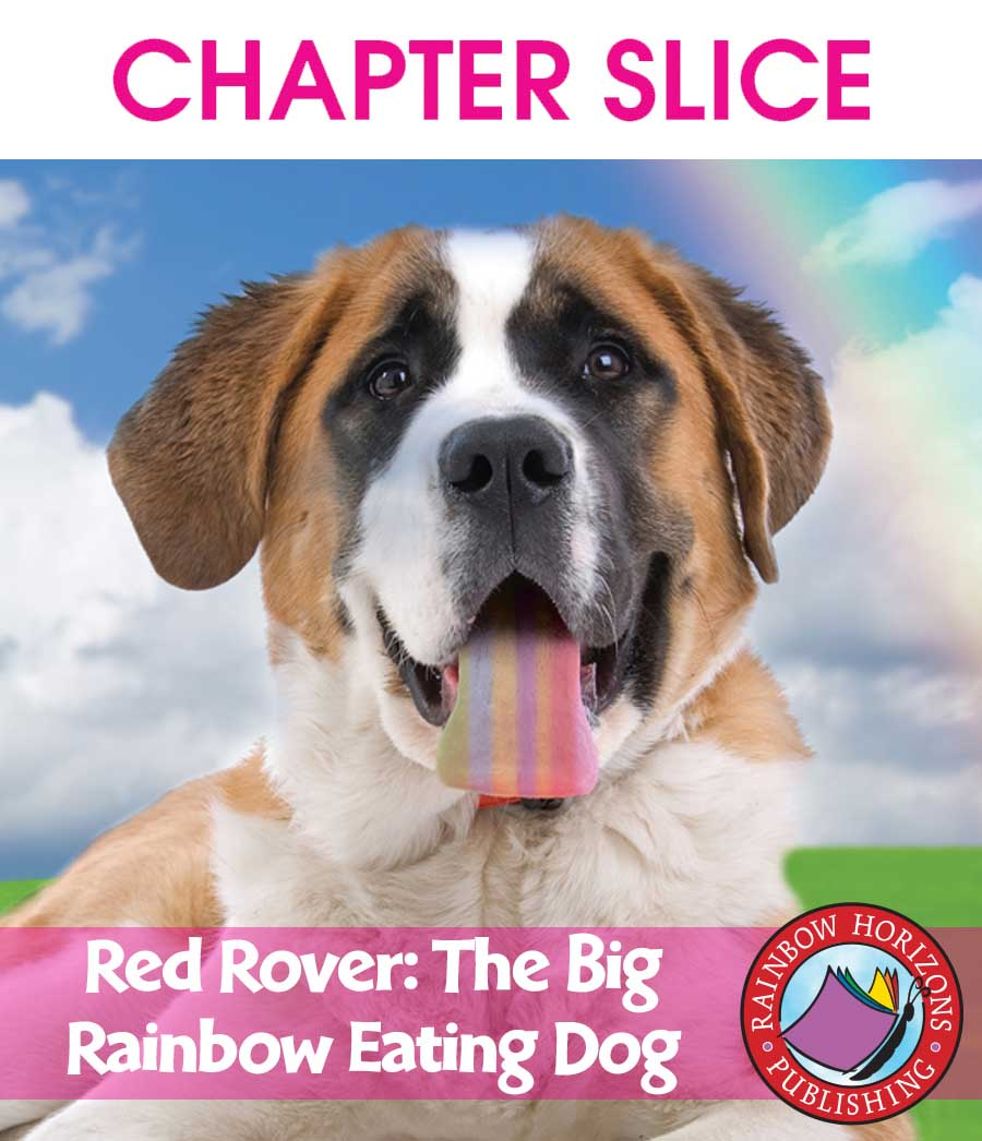 Red Rover, the Big Rainbow Eating Dog Gr. K-2 - CHAPTER SLICE - eBook