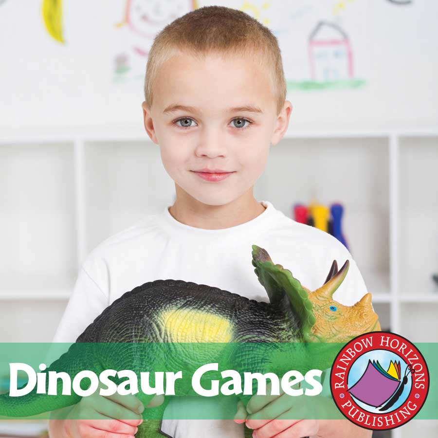 Dinosaur Games Gr. K-2 - eBook