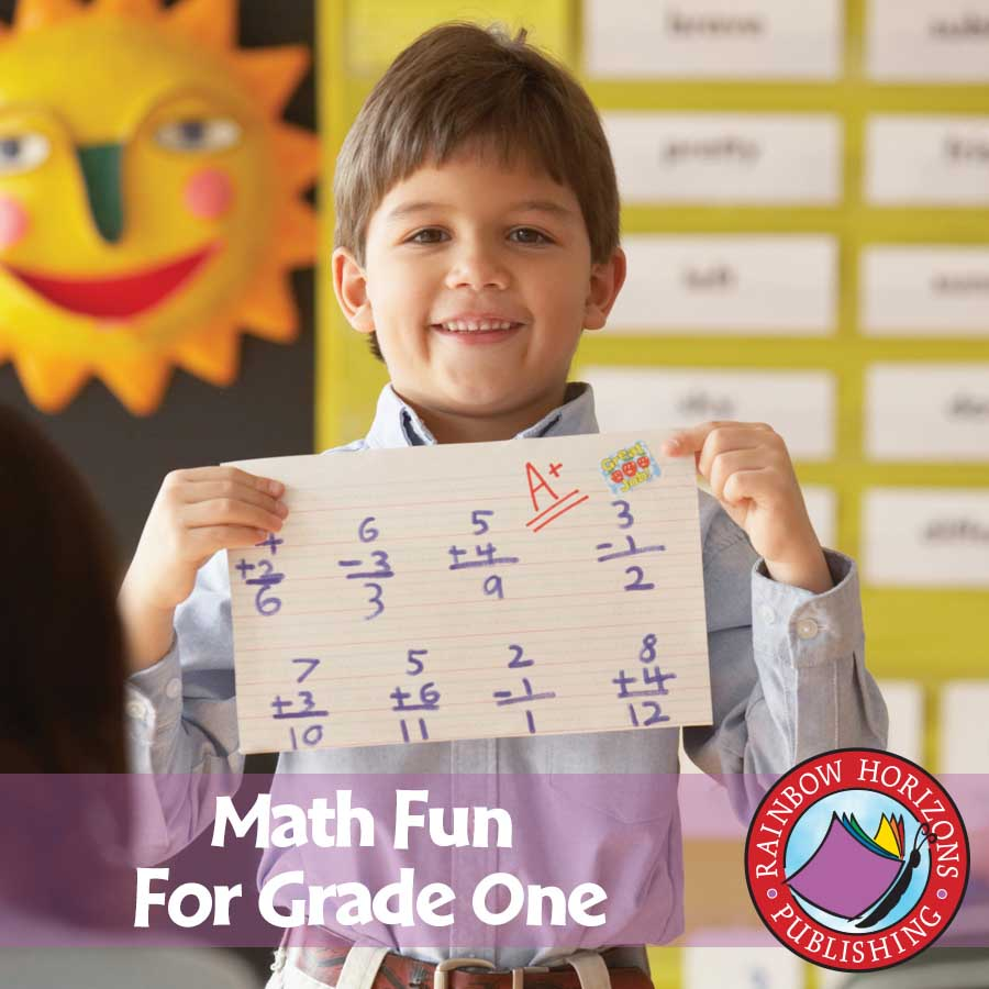 Math Fun For Grade One Gr. 1 - eBook