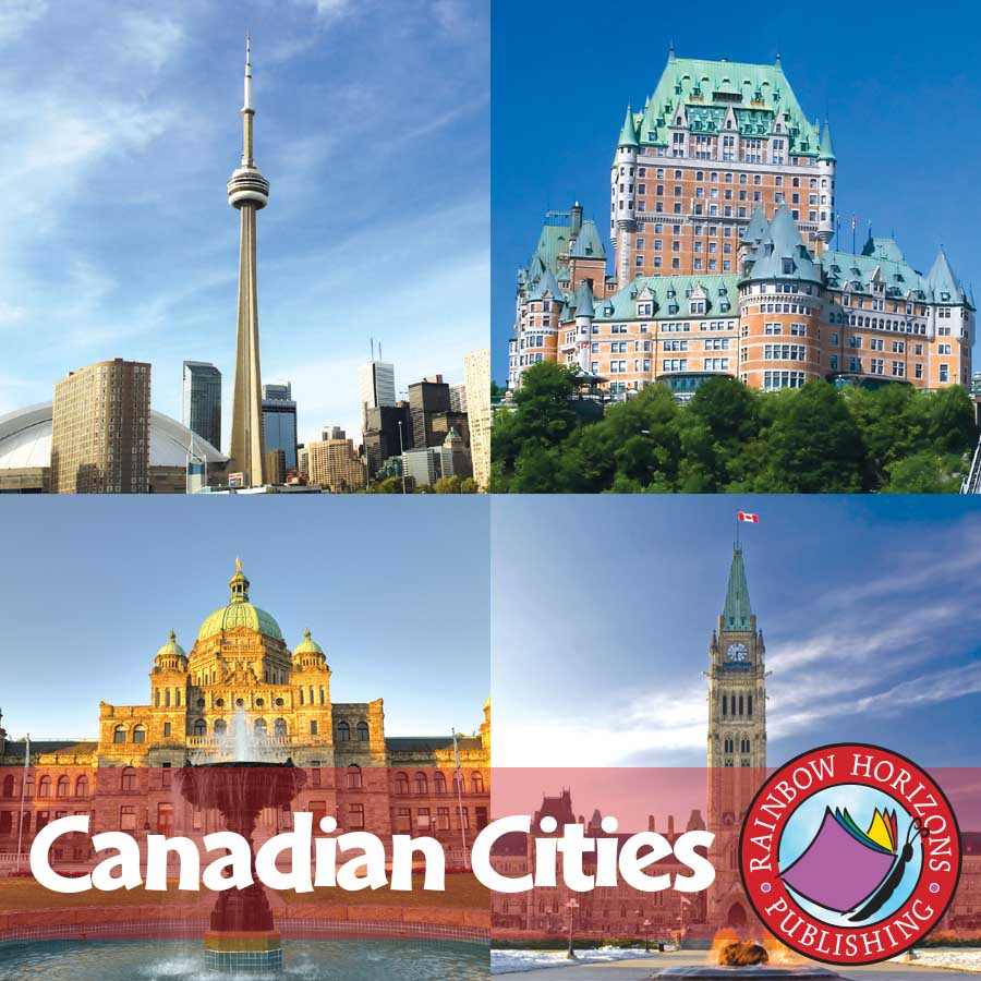 Canadian Cities Gr. 2-3 - eBook