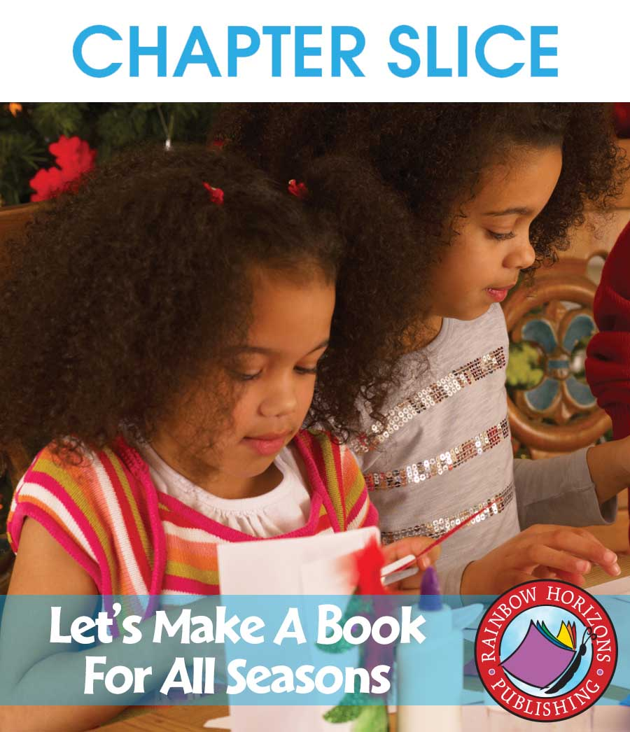 Let's Make A Book For All Seasons Gr. 1-2 - CHAPTER SLICE - eBook