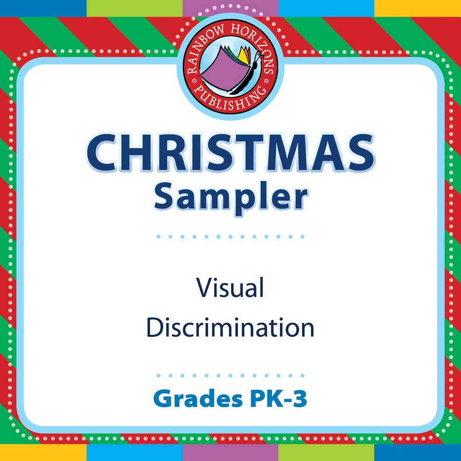 Christmas Sampler Gr. PK-3 - FREE WORKSHEETS - eBook
