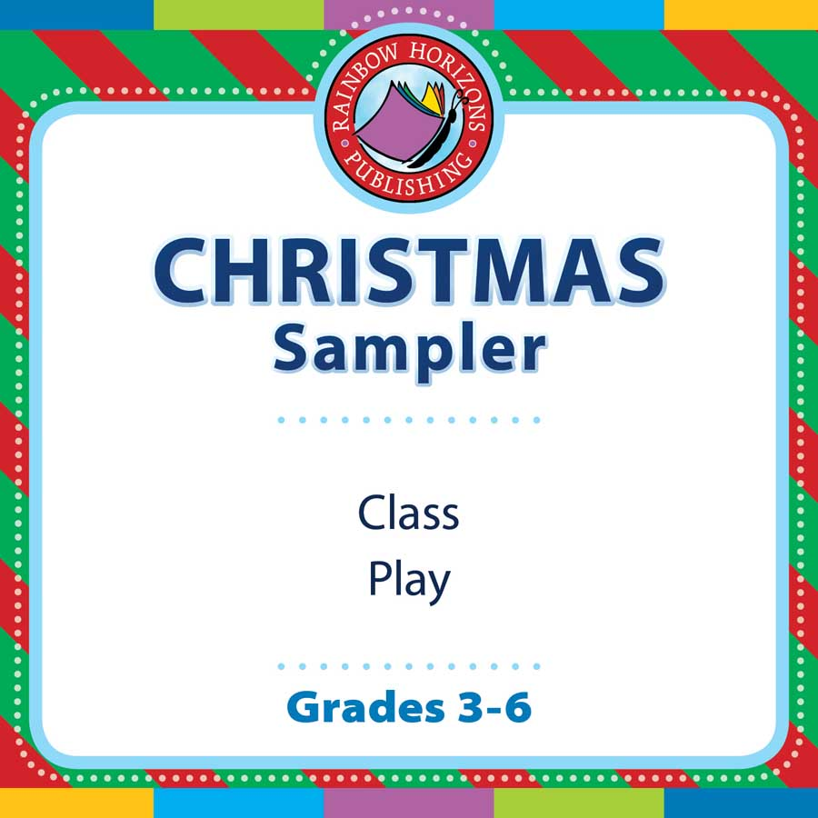 Christmas Sampler Gr. 3-6 - FREE WORKSHEETS - eBook