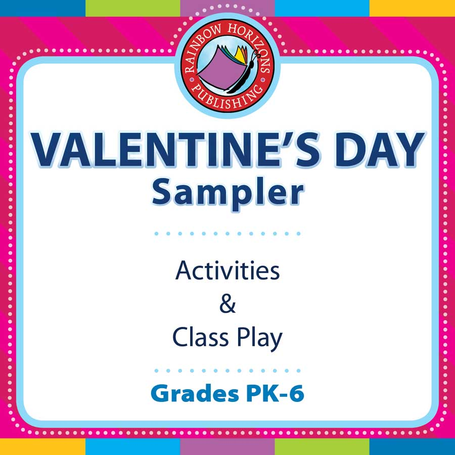 Valentine's Day Sampler Gr. PK-6 - FREE WORKSHEETS - eBook