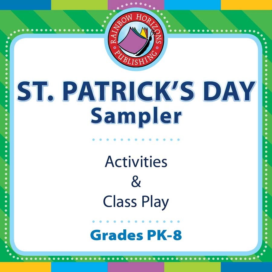 St. Patrick's Day Sampler Gr. PK-8 - FREE WORKSHEETS - eBook
