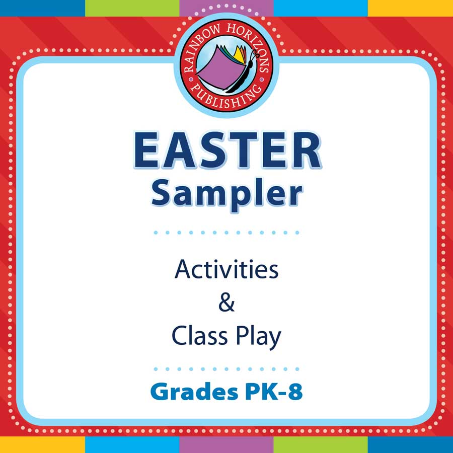 Easter Sampler Gr. PK-8 - FREE WORKSHEETS - eBook